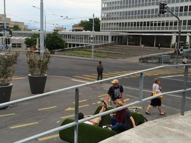 Pont des Délices, Genève : Un togethering multimodal!