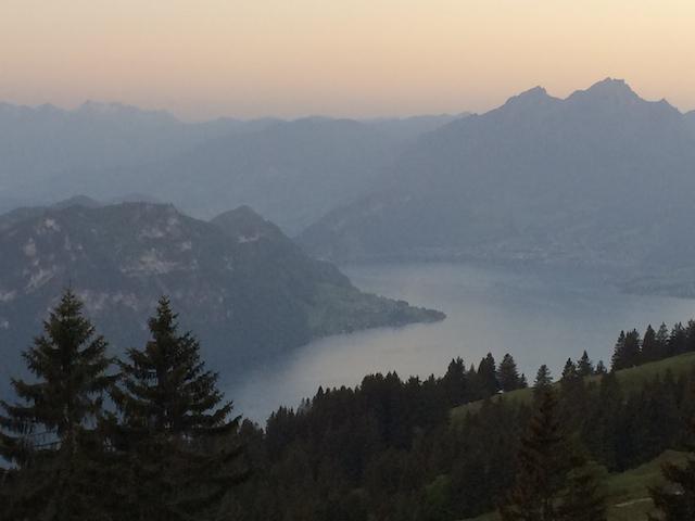 Rigi Kaltbad (LU) : Un paysage  à couper le souffle!
