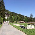 Rigi Kaltbad (LU) : Des jeux d'échecs bordent la promenade, pour les plus intellos...